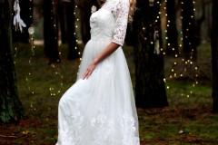 sukienka boho na wynajem do sesji np.narzeczeńskiej XS, 20 zł (cena obejmuje już koszt czyszczenia)