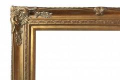 rama złota na tablicę powitalną lub plan stołów albo jako rekwizyt do zdjęć 68x78 cm, wynajem 25 zł